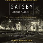 """Gatsby in the Garden"" Philadelphia Museum of Art"